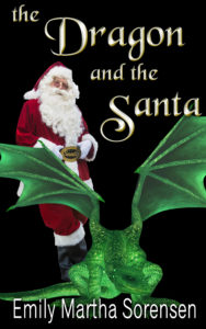 The Dragon and the Santa Cover
